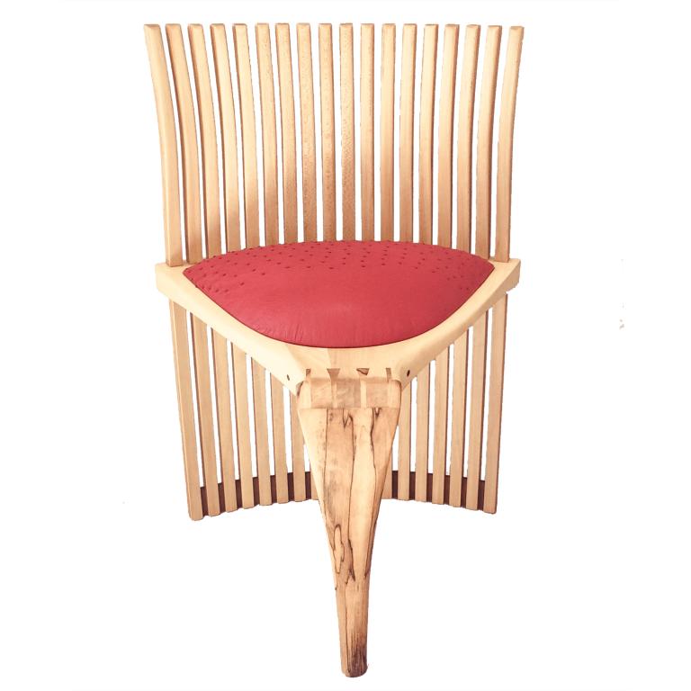 Mbira Art Chair Front Richard Henley