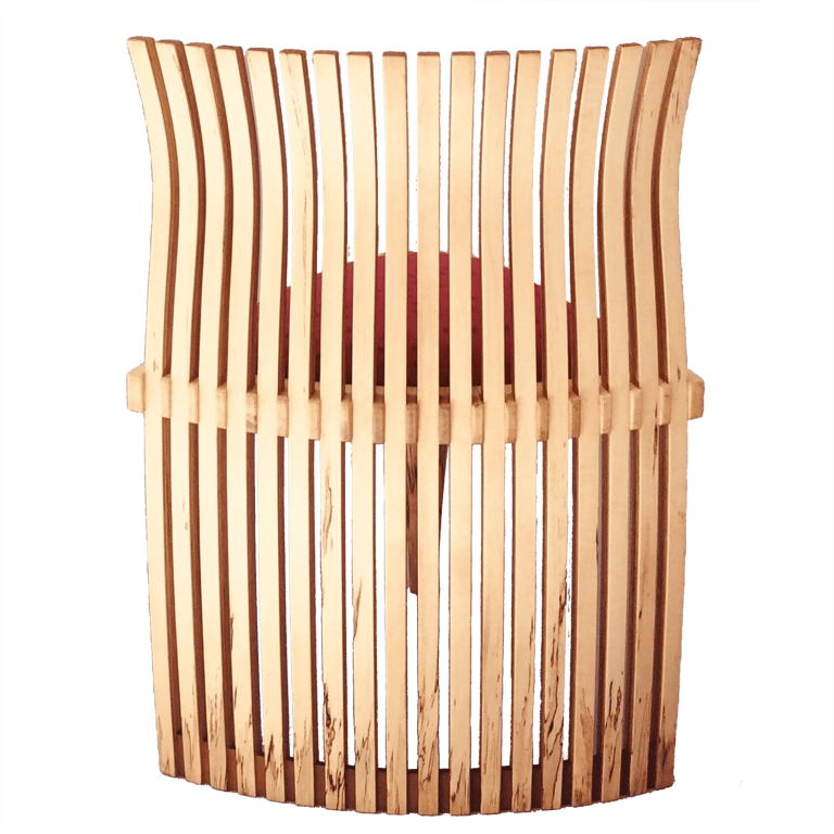 Mbira Art Chair Wooden lamination