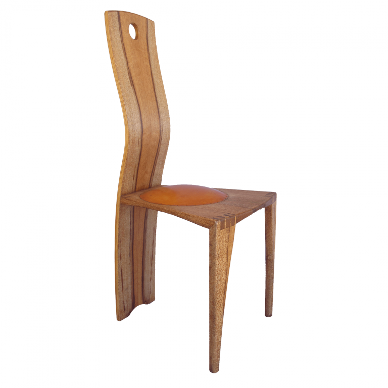Squiggleback dining chair