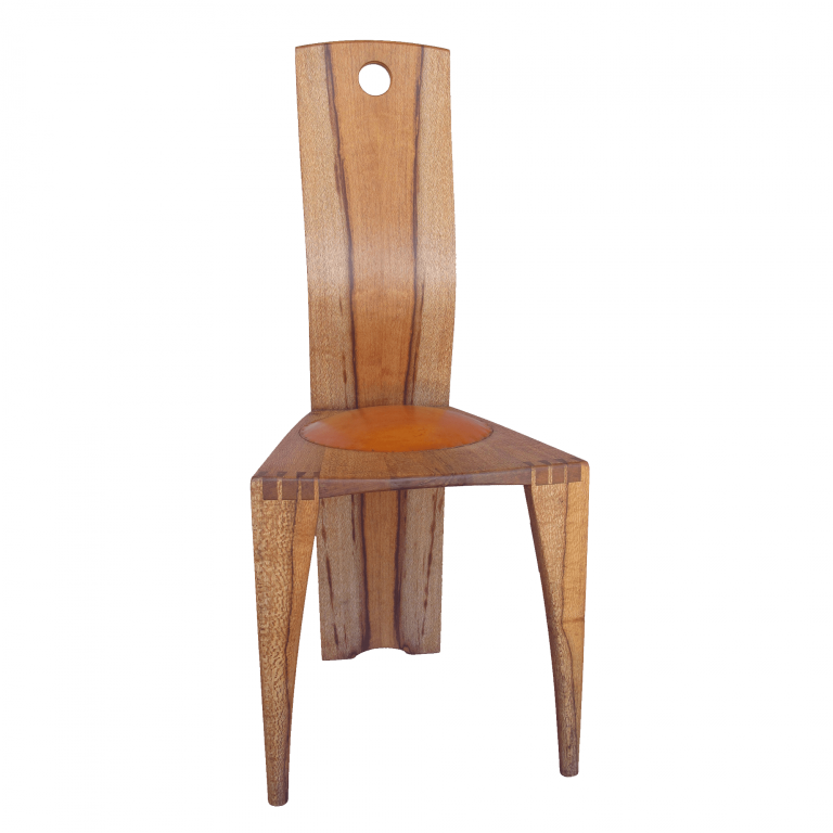 Squiggleback dining chair front