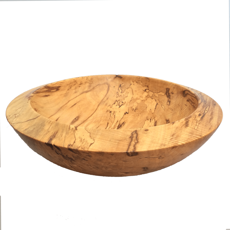 10)  Unknown thick-walled spalted wood -  220mm ⌀ ; 70mm h - Price R1250